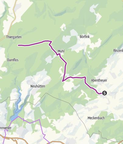 Karte / Nationalpark-Radquerung 9