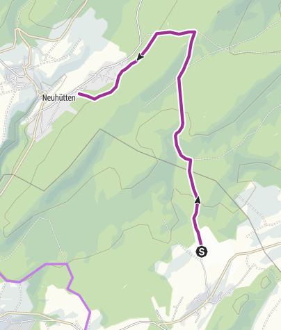 Karte / Nationalpark-Radquerung 10