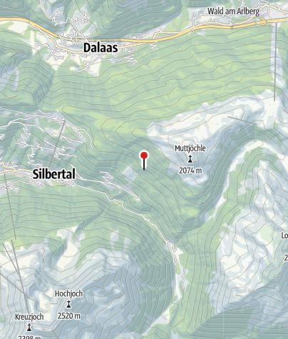 Karte / Kneippanlage Sieba Brünna