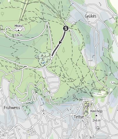 Map / Mecseki kisvasút
