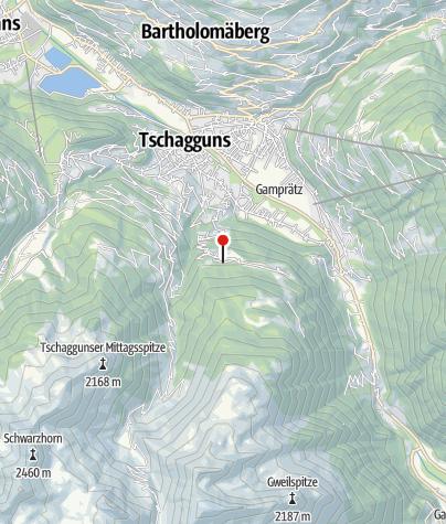 Karte / Bitschweil Stausee
