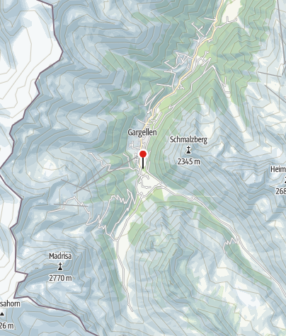 Karte / Vergaldner Wäldle