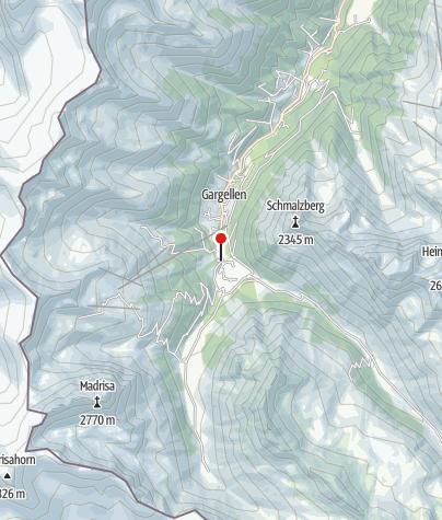 Karte / Kalkofen Vergalda