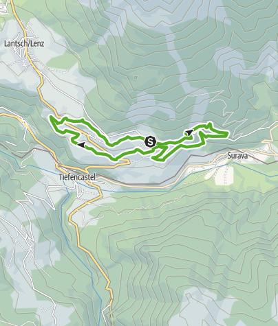Karte / 750 Burgruine Belfort
