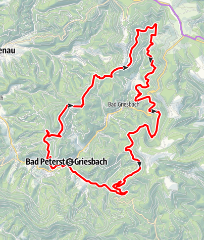 Karte / Bäder-Tour