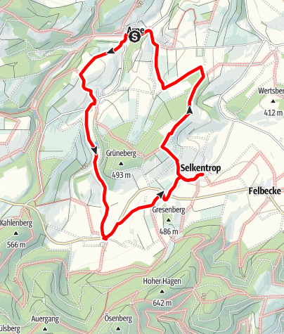 Map / Lauschpohl-Route 5