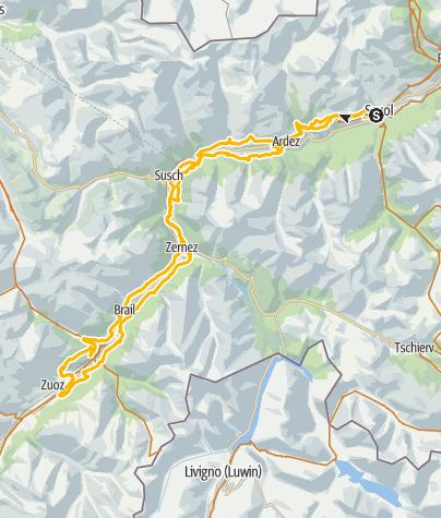 Karte / Alternativstrecke Nationalpark Bike-Marathon