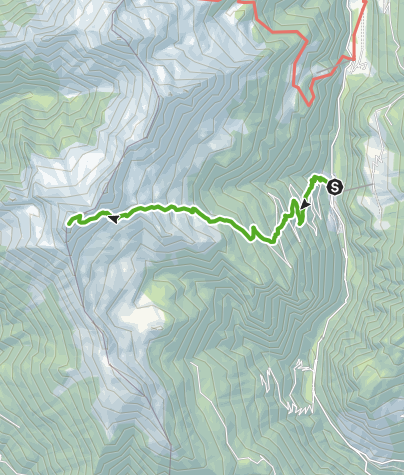 Cartina / Arvigo - Alp de Stabveder - Pizzo di Claro