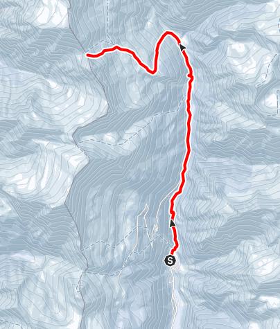 Karte / 417 - Passo di Revi