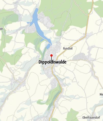 Karte / Hochmittelalterliche Silberbergwerke Dippoldiswalde: Silber