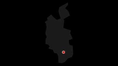 Kaart / Alp Flix - Moorlandschaft von nationaler Bedeutung (Bivio - Savognin, Teilstück Via Sett)