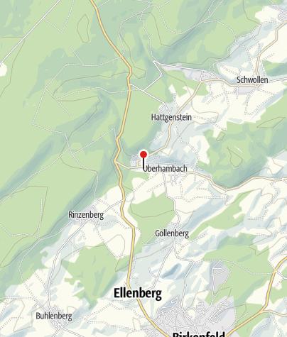 Karte / E-Bike-Verleih im Hambachtal