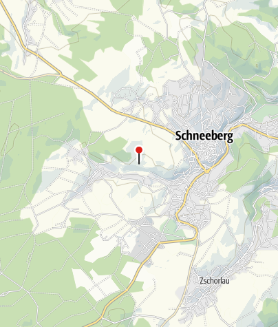 Karte / Bergbaulandschaft Schneeberg: Kobalt