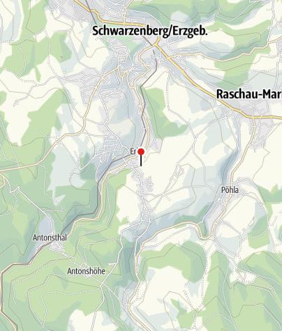 Karte / Bergbaulandschaft Rother Berg: Eisen