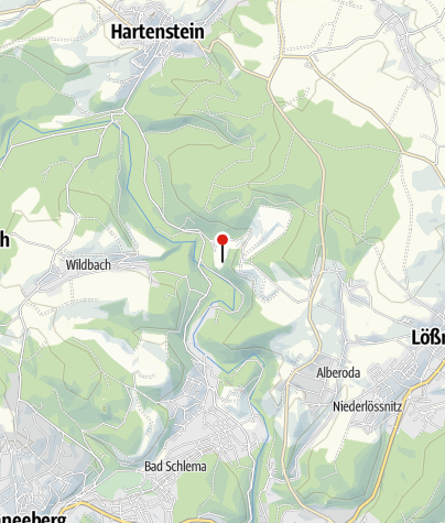 Karte / Bergbaulandschaft Uranerzbergbau: Uran