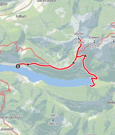 Karte / Latschur
