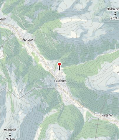 Karte / Alpenchalet Gaschurn