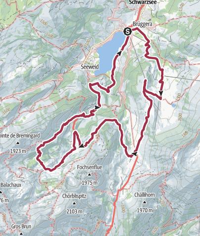 Map / Brecca primeval landscape
