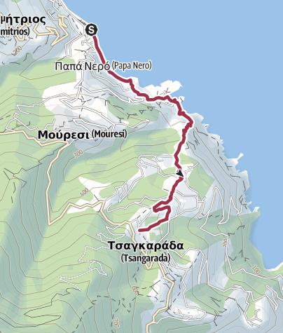 Map / Walk to Tsagarada