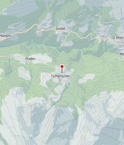 Karte / Tschiertschen
