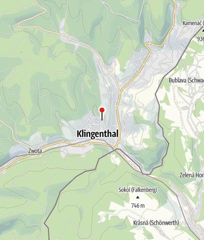 Karte / Freibad Klingenthal