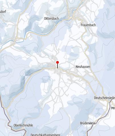 Karte / Zinn-Gießen