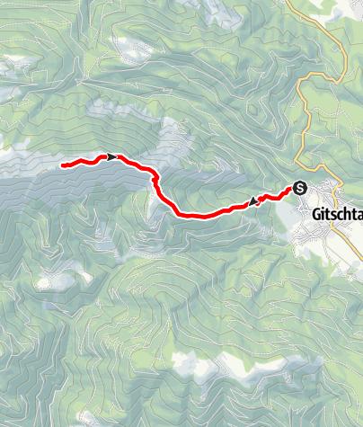 Karte / Sattelnock