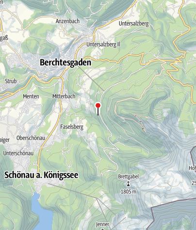 Karte / Bike Energy Ladestation Graflhöhe | Windbeutelbaron