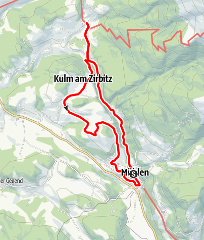 Map / Mühlen_See-Kulm-Hitzmannsdorf-Runde