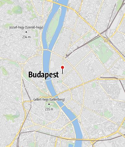 Mapa / OTP Bank ATM (Budapest, Nádor utcai fiók)