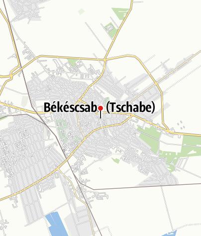 Mapa / OTP Bank ATM (Békéscsaba, Szent István téri fiók)