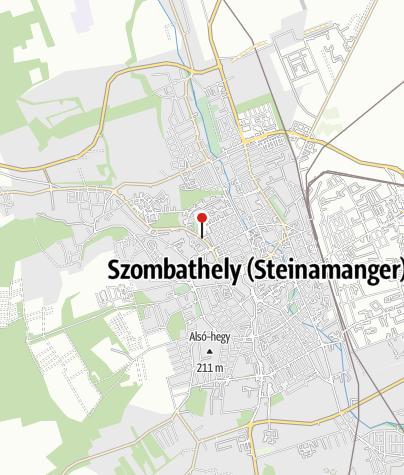 Mapa / OTP Bank ATM (Szombathely, Rohonci utcai fiók)