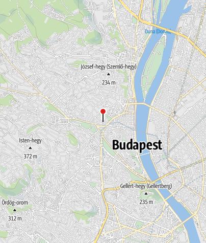 Mapa / OTP Bank ATM (Budapest, Fény utcai fiók)