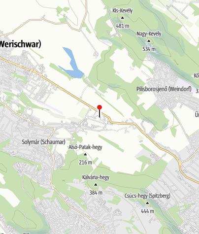 Map / OTP Bank ATM (Solymár, Szent Flórián utcai fiók)
