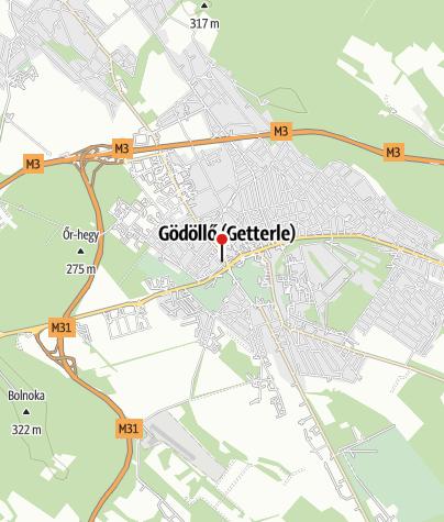 Mapa / OTP Bank ATM (Gödöllő, Szabadság téri fiók)