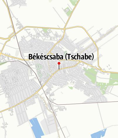 Mapa / OTP Bank ATM (Békéscsaba, Andrássy úti fiók)