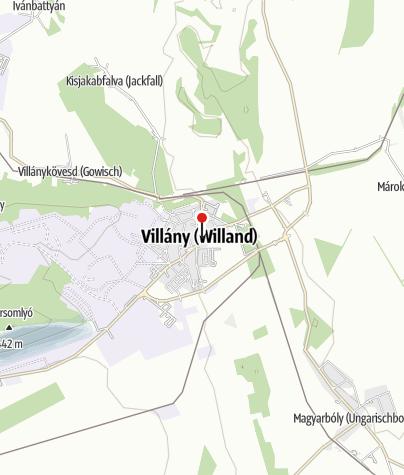 Map / OTP Bank ATM (Villány, Baross Gábor utcai fiók)
