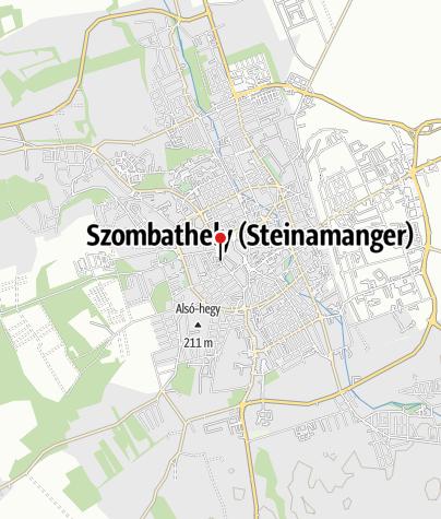 Mapa / OTP Bank ATM (Berzsenyi Dániel Főiskola)