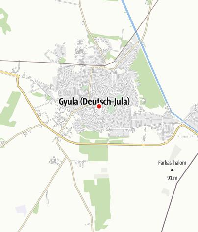 Karte / OTP Bank ATM (Megyei Kórház)