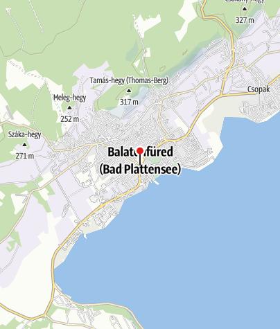 Mapa / OTP Bank ATM (Polgármesteri Hivatal)