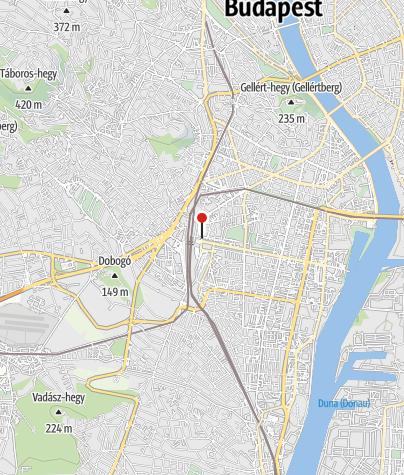 Map / OTP Bank ATM (Volánbusz-Kelenföld)