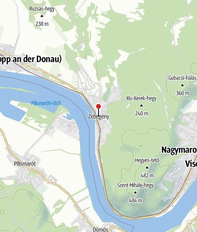Map / OTP Bank ATM (Zebegény Község Önkormányzat)