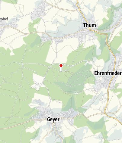 Karte / Bergbau erkunden und erleben - Tour durch den Greifensteinwald