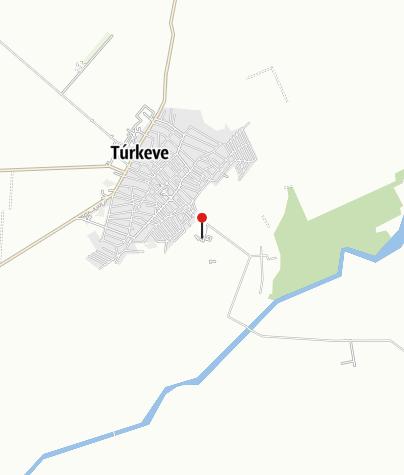 Map / Túrkeve Termál Szálló