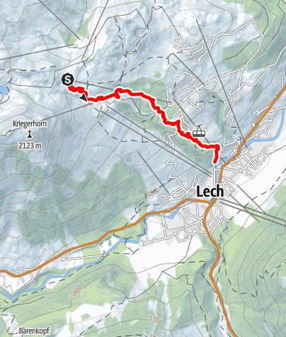 Karte / Burgwald Trail