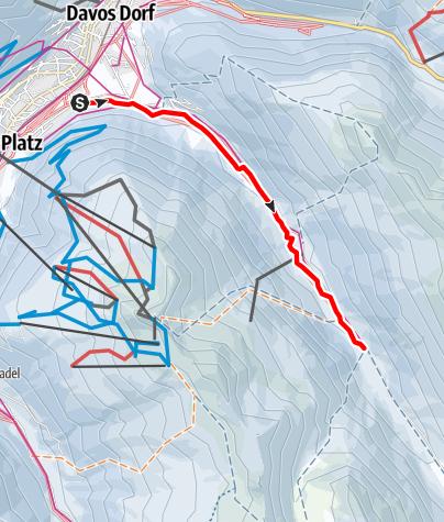 Karte / Chaiseren-Rundtour