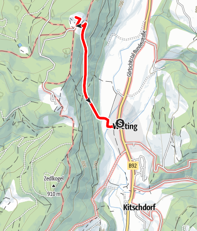 Karte / Geheimnisvolles Maria Hilf
