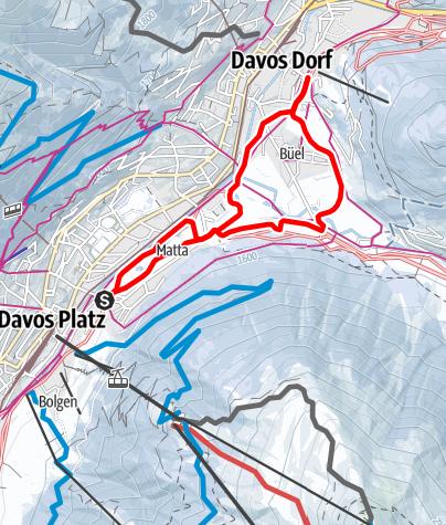 Karte / Hofmänner - Bünda
