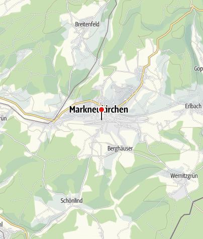 Karte / Stadt Markneukirchen