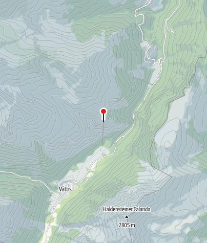 Map / Seilerhütta Vättnerberg